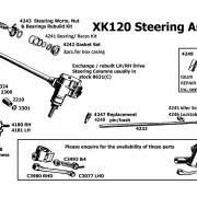 XK120 Steering Assembly 201014