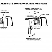 XK150 OTS tonneau cover REVISED171114