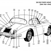 xk150 late FHC SCHEMATIC