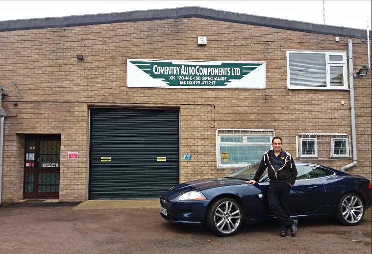 Stuart MacNeill - Director and proud owner of an immaculate new generation Jaguar!