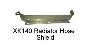 XK140 Steel Shield, for Radiator Hose (4558)