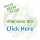 Period Look  XK120 /140/ 150  Jaguar Complete Alternator Kits