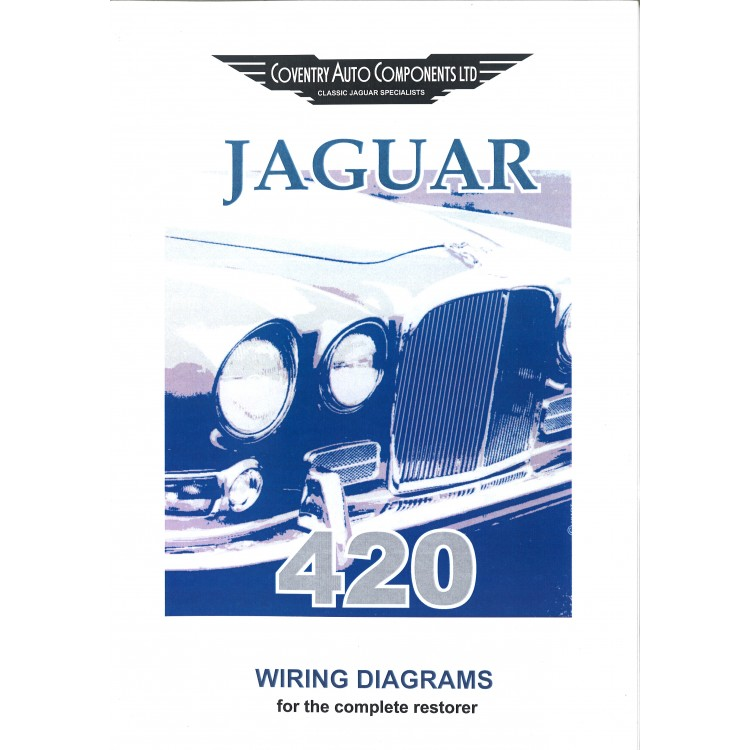 Jaguar 420 Wiring Diagram - Wiring Diagram K8 on