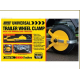 Trailer Wheel Clamp for Smaller  8  to 10 inch Diameter Wheels