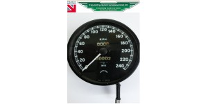 OUTRIGHT SALE REBUILT  XK120 & XK140 KILOMETERS PER HOUR SPEEDOMETER