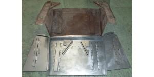 XK140 & XK150 Spare Wheel Rear Boot Panel Flat Pack Kit CAC5-78