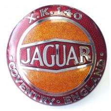 Jaguar XK140 Grille Badge