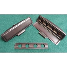 **NOW BACK IN STOCK*** XK140 Ashtrays  FHC & DHC in Correct Old Copper Finish For Dash Top Rail