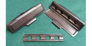 2032 x 2. XK140 Ashtrays  FHC & DHC in Correct Old Copper Finish For Dash Top Rail. BD9151