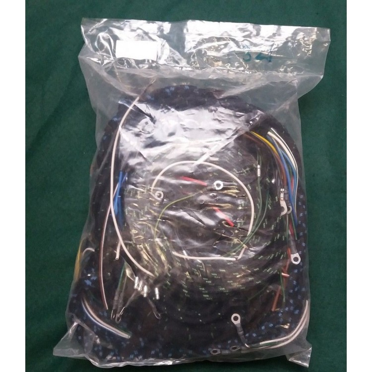 Jaguar XK150 Late Plastic id Wiring Harness - RHD/LHD ... on