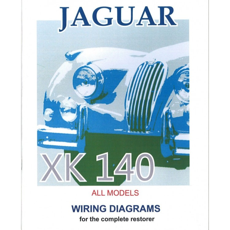xk140 exploded wiring diagrams book (9187), Wiring diagram