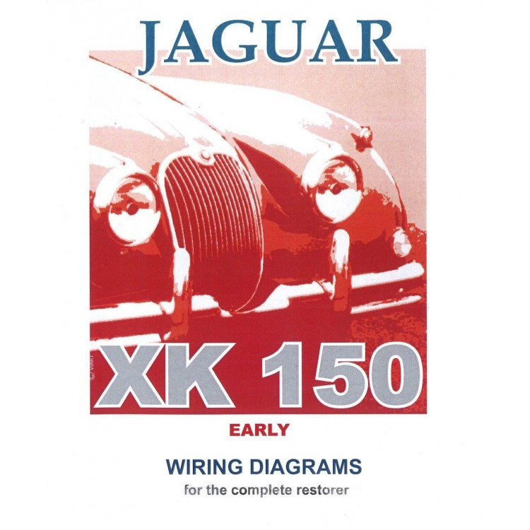 jaguar early xk150 exploded wiring diagram book 9188 jaguar early xk150 exploded wiring diagrams book 9188