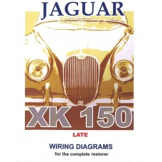 jaguar xk150 late model exploded wiring diagram book 9189 rh coventryautocomponents co uk