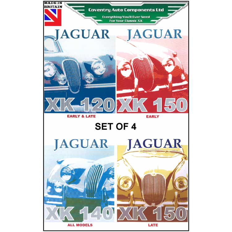set of 4 jaguar xk120 xk140 xk150 exploded wiring diagram books rh coventryautocomponents co uk