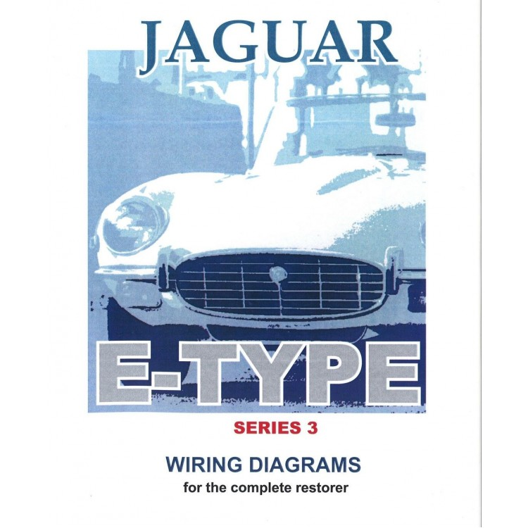 jaguar series 3 e type exploded wiring diagram book 9193 rh coventryautocomponents co uk jaguar xj6 series 3 wiring diagram jaguar e type series 3 wiring diagram