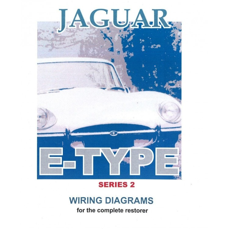jaguar series 2 etype exploded wiring diagram book 9192