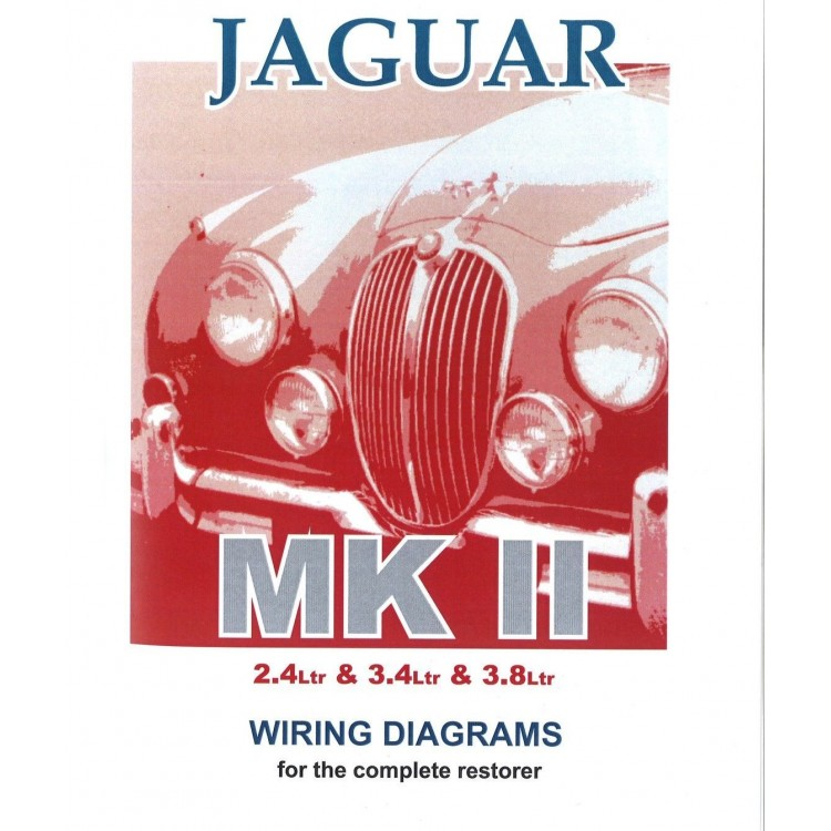 Jaguar Mark 2 MkII Wiring Diagrams Book (9194) on
