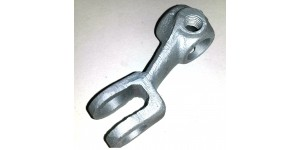 XK150 CAST IRON Clutch Lever Drop Arm, Bearing Actuator C12942