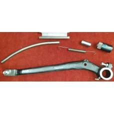 3238K Right Hand Drive XK140  Brake Pedal Kit inc. Stem & Plate, Spring & Roller Bearing. C7549
