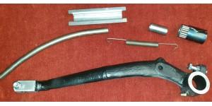 XK140 LHD Brake Pedal, Stem & Plate, Spring & Roller Kit