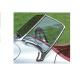 1010. XK120 &  XK140 Roadster (O.T.S.) Screen Pair of New Chrome Side Pillar BD3765 & BD3766 L&R