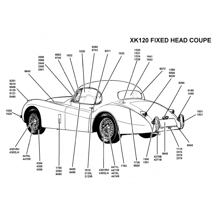 Jaguar Xk140 Wiring Diagram Electrical Symbols Diagram