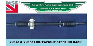 4195. NEW XK140 & XK150 LIGHTWEIGHT STEERING RACK OUTRIGHT. C8469 RHD or C8470 LHD * 10% OFF *