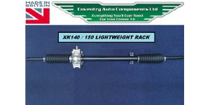 4195 NEW XK140 & XK150 STEERING RACK OUTRIGHT SALE * LIGHTWEIGHT DESIGN* C8469 RHD or  C8470LHD