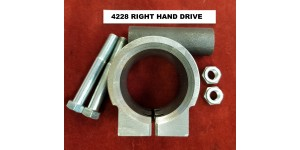 XK120 Right Hand Drive Steering Column Trunnion Clamp C3059