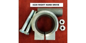4228. XK120 Right Hand Drive Steering Column Trunnion Clamp. C3059