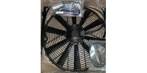 5792 / 150 Revotec XK150 Electric Fan Kit for cars with Alternator & Negative Earth Conversion