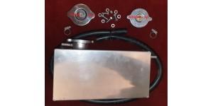 SE454 XK Expansion ( Header)  Tank  - Radiator Overflow Reservoir Kit with Correct Rad Caps