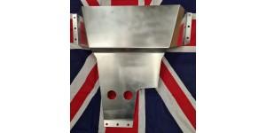SE839.  XK140 & XK150 Aluminium Sump Shield, Guard, Deflector, Undertray. C8441. C13078